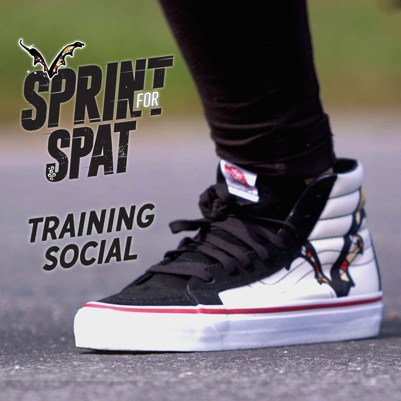 Sprint For Spat Training Social